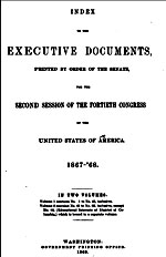 US Senate Documents on Fenian Raids