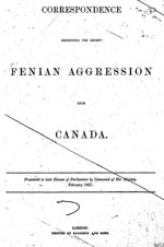 Fenian aggression upon Canada