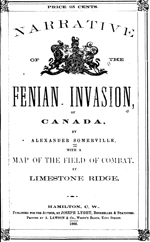 Somerville  Narrative of the Fenian Invasion of Canada